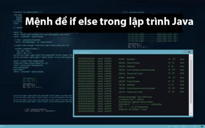 Mệnh đề If Else trong lập trình Java