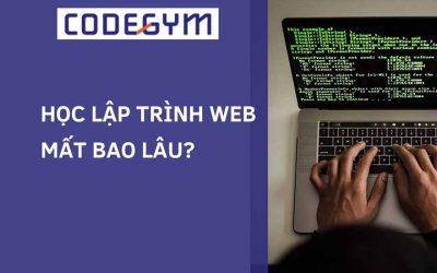 Học lập trình web mất bao lâu?