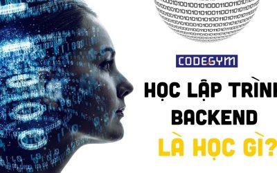 Học lập trình Backend là học gì?